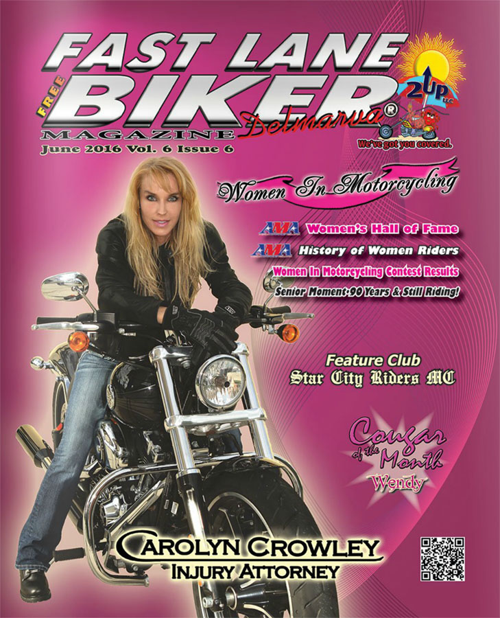 Fast Lane Biker June 2016