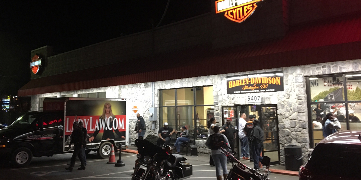 Ladies Night Harley Davidson Washington DC
